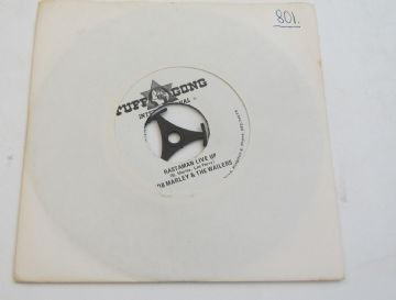 "Bob Marley And The Wailers 1978  RASTAMAN LIVE  UP 1978 Jamaican REGGAE 7"" EX AUDIO"